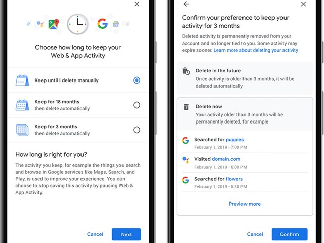 Google Now Rolling Out Auto-Delete Controls for Location History