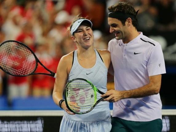 WTA Envies Belinda Bencic For Her Alliance With Roger Federer
