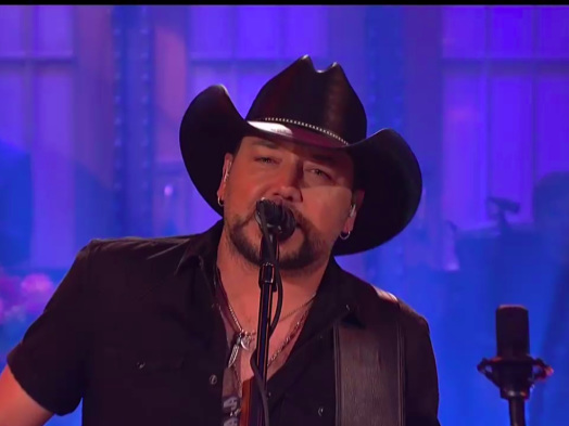 Jason Aldean Pays Tribute to Las Vegas Shooting Victims and Tom Petty on 'Saturday Night Live'