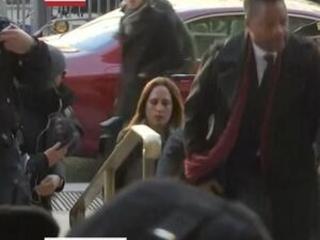 Cuba Gooding Jr. arrives at NYC court