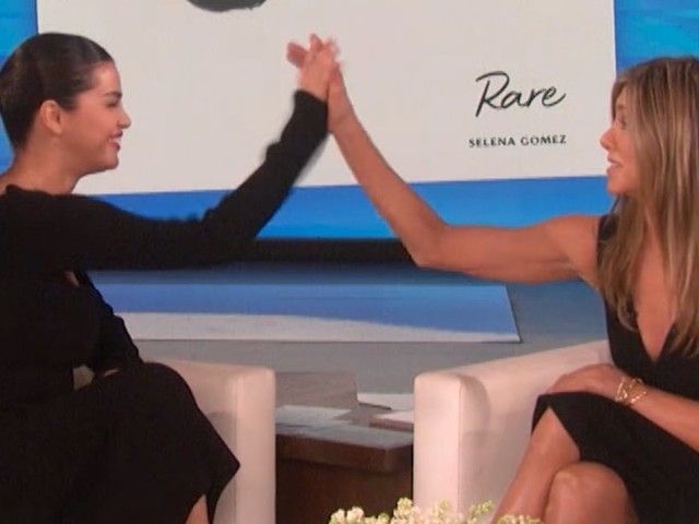 Selena Gomez and Jennifer Aniston Can't Stop Gushing Over Each Other, and It's Adorable