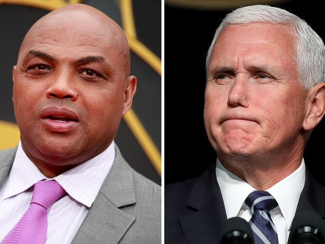 Charles Barkley says Mike Pence 'needs to shut the hell up' over NBA-China criticism