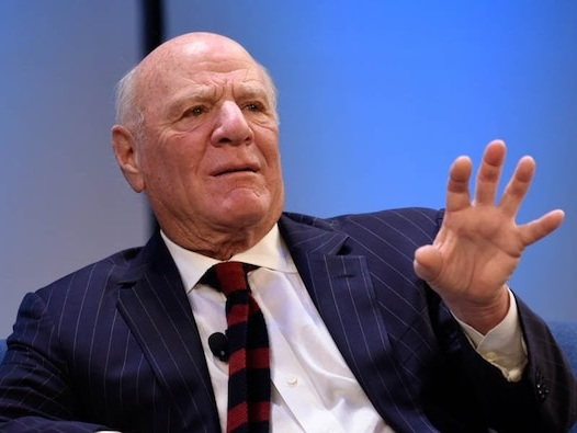 Billionaire media mogul Barry Diller calls cryptocurrencies a 'con' and says price forecasts are 'nutso'