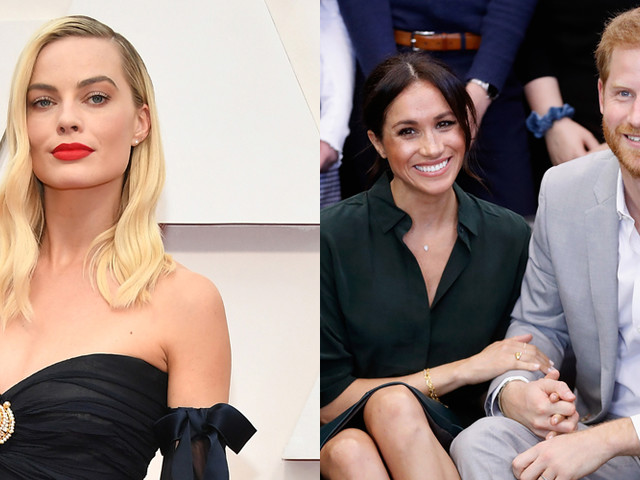 Margot Robbie Invites Meghan Markle & Prince Harry To Dinner in LA