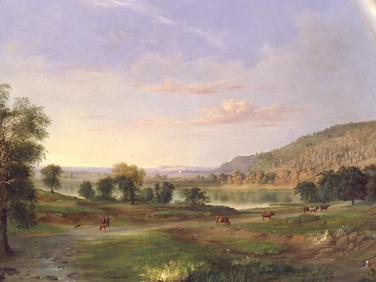 Robert S. Duncanson Painting Presented to Biden Administration