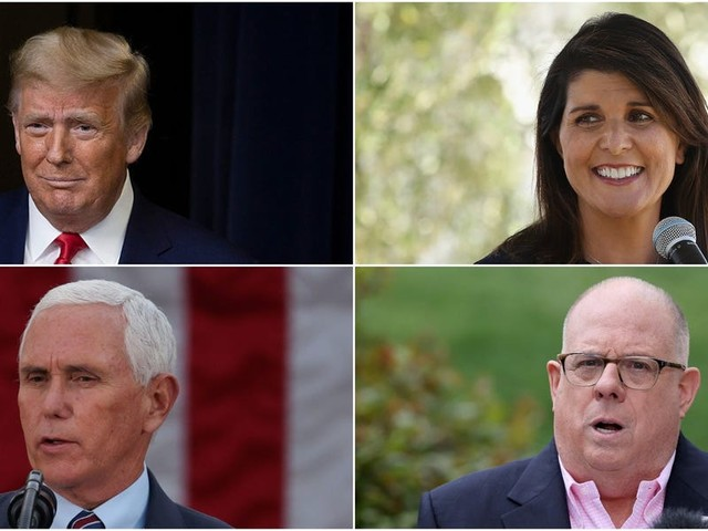 The race is already starting for the Republican 2024 presidential nomination. Here's Insider's rankings of the top 14 likely candidates, from Trump to Haley to Hogan.