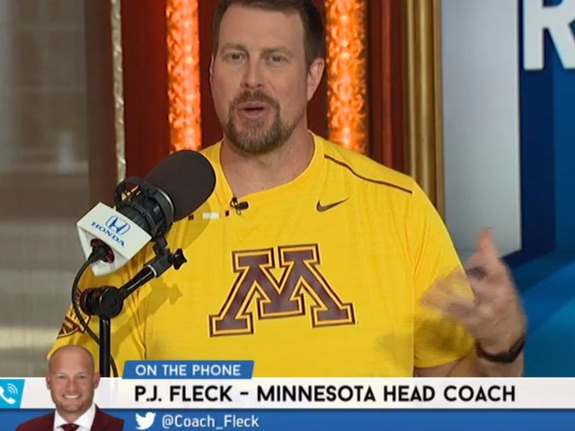 Ryan Leaf on his love for Gophers football: 'I was the first one on the boat'