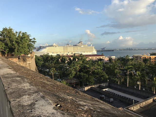 Allure of the Seas docks in San Juan following two cancelled visits by other Royal Caribbean ships
