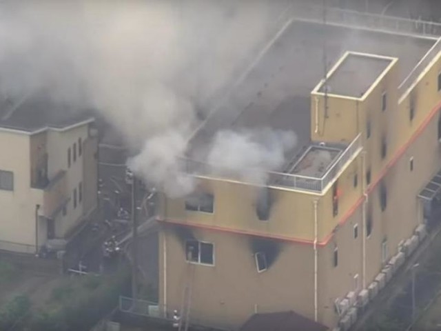 At least 14 dead after fire at Japanese anime studio