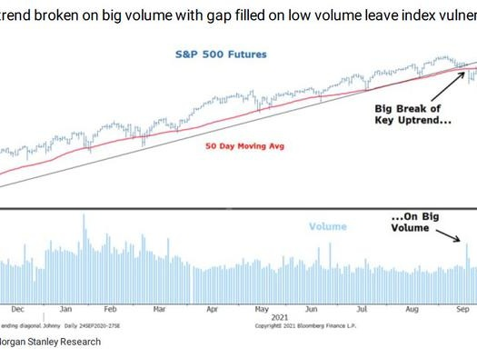 """Morgan Stanley Dismisses Market's """"Strong Rebound"""", Remains Bearish On Coming Earnings Disappointment"""