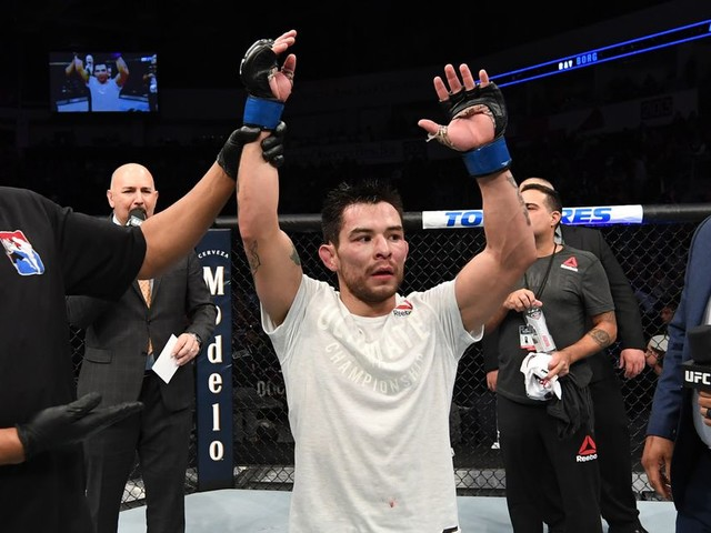 Ray Borg vs. Ricky Simon lined up for UFC's May 13th card