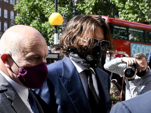 Johnny Depp's Drama Goes on Trial