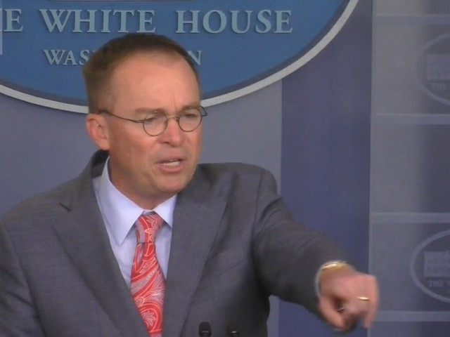Trump's acting chief of staff admits it: There was a Ukraine quid pro quo