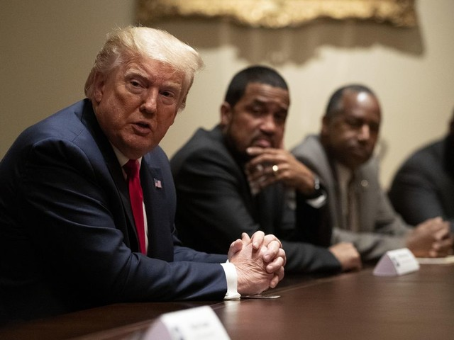 Rasmussen: 31% of likely Black voters support President Trump
