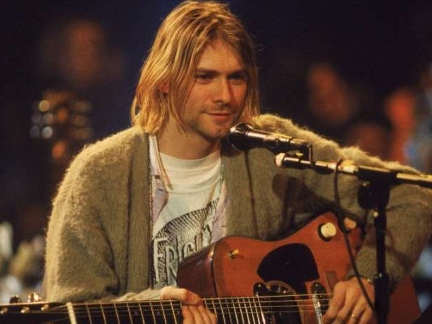 Kurt Cobain's iconic 'Unplugged' unwashed cardigan sold for a record-breaking $334,000