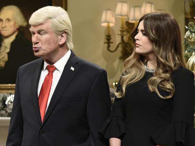 'SNL's Cecily Strong Says Melania Likes Alec Baldwin's Donald Trump