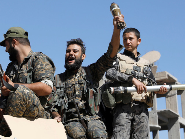 US-Backed Syrian Democratic Forces Declare Victory Over ISIS In Raqqa