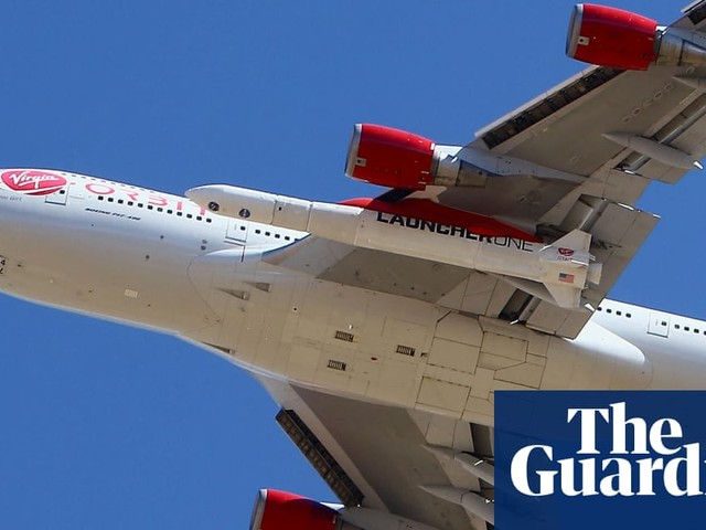 Richard Branson's Virgin Orbit reaches space eight months after first flight