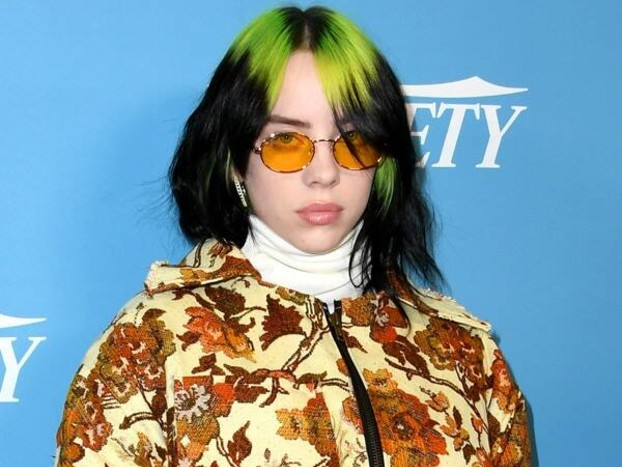 Billie Eilish's Upholstery-Like Ensemble Is the True Definition of Holiday Style