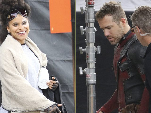 Zazie Beetz Joins Ryan Reynolds on 'Deadpool 2' Set