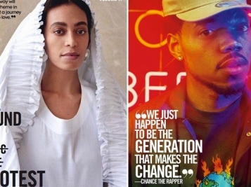 TEEN VOGUE STARS: Solange Pens Letter To Teenage Self Every Young Girl Should Read + Chance The Rapper Nabs His Own Cover