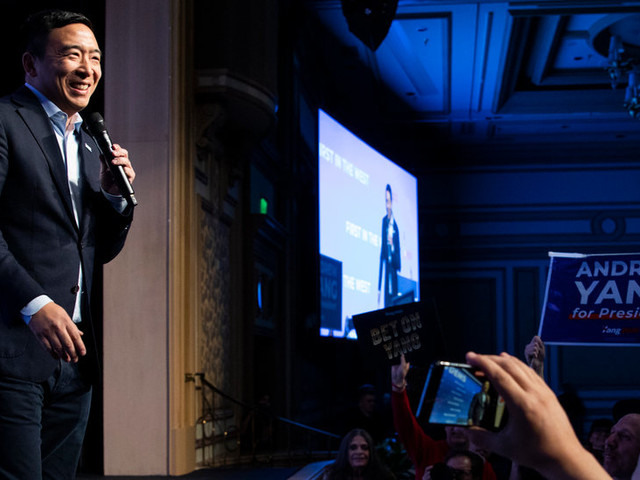 Andrew Yang Qualifies for Next Democratic Debate