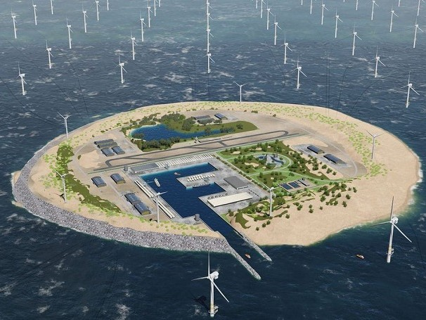 New Concept for the World's Largest Wind Farm