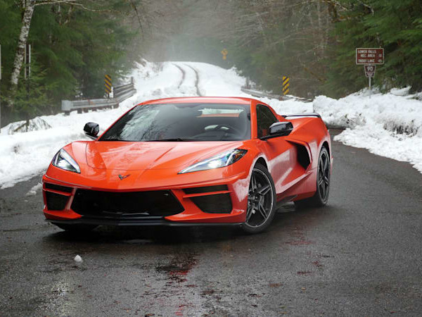 Chevrolet Corvette Convertible Road Test Review | Mountain road after a blizzard. What could go wrong?