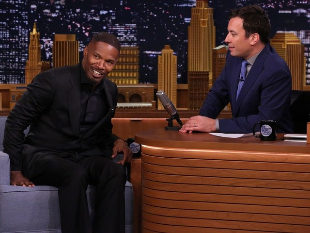 'This one is a stretch': Jamie Foxx defends Jimmy Fallon over resurfaced 'blackface' skit
