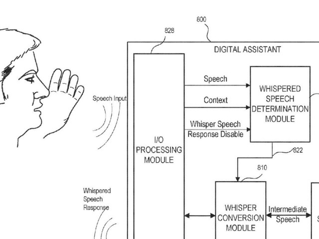 Apple patent describes how Siri could detect when a user is whispering & respond quietly