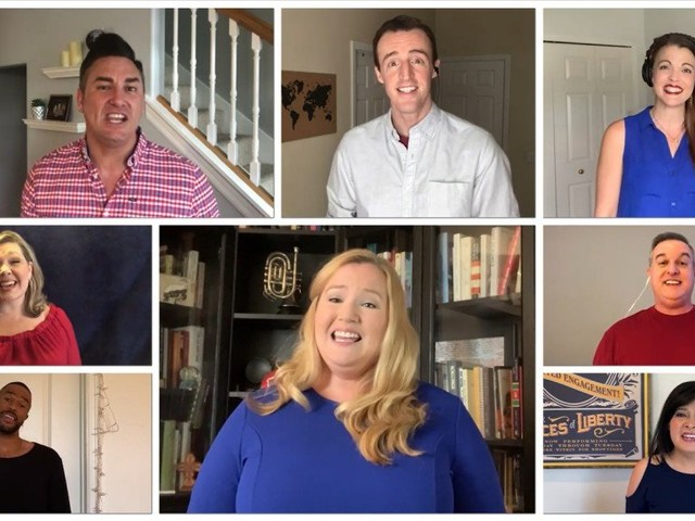 The Voices of Liberty Celebrate Memorial Day From Home With a Patriotic Classic