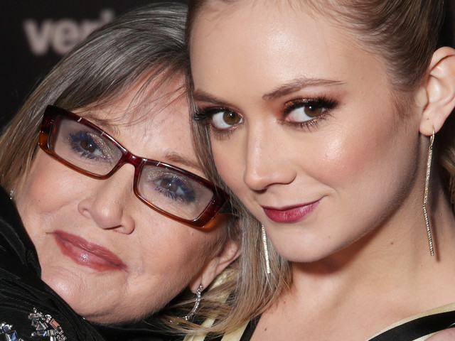 Carrie Fisher Raised Billie Lourd 'Without Gender'