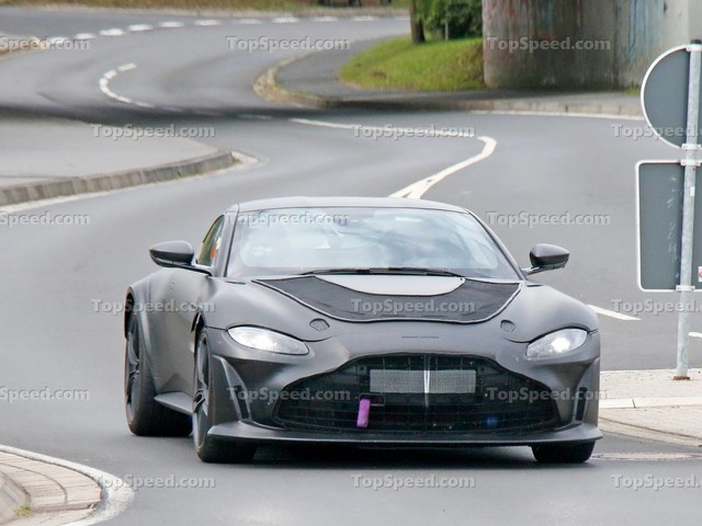 A New Prototype Suggests Aston Martin Is Doing Unthinkable Things to the Vantage