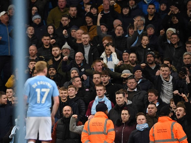 Man Arrested Over 'Racist Gesture' At Manchester Derby