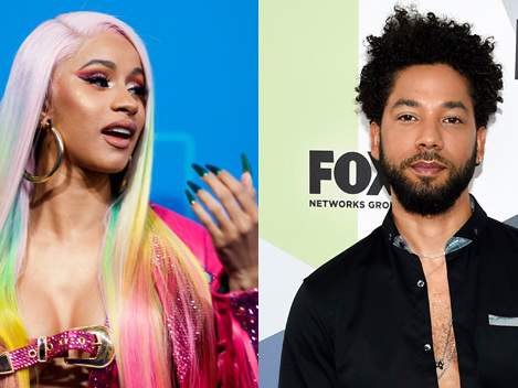 Cardi B Says She's 'Disappointed' In Jussie Smollett: He 'F***ed Up Black History Month' If He Lied