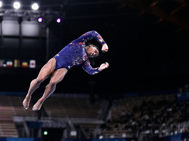 Simone Biles is still the GOAT, even after a rough day
