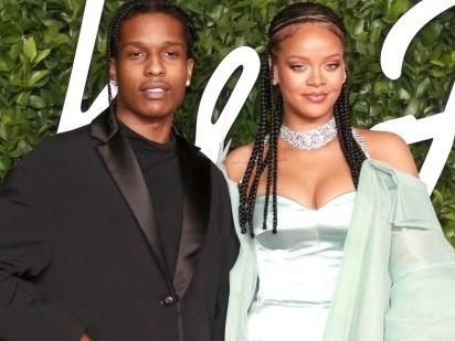 "Rihanna's Red Carpet Belly ""Bump"" Sparks Pregnancy Rumors Again"