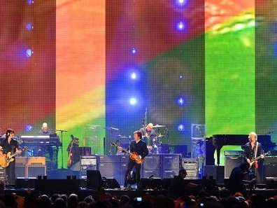 Paul McCartney unveiled as first Pyramid Stage headliner for Glastonbury 2020
