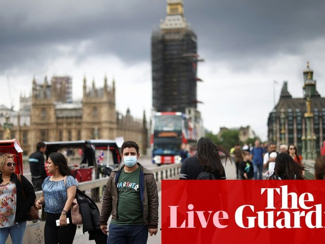 UK Covid live: rules on mask wearing, social distancing and working from home in England set to end, PM says