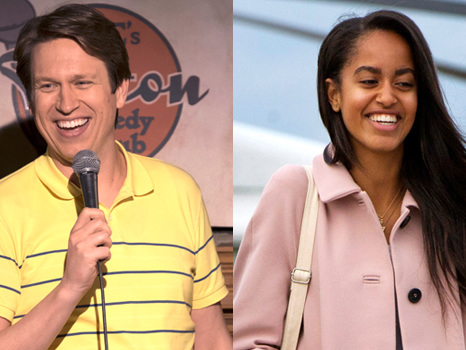 Comedian Pete Holmes Accidentally Tells Malia Obama To 'STFU' During His Comedy Show — Watch