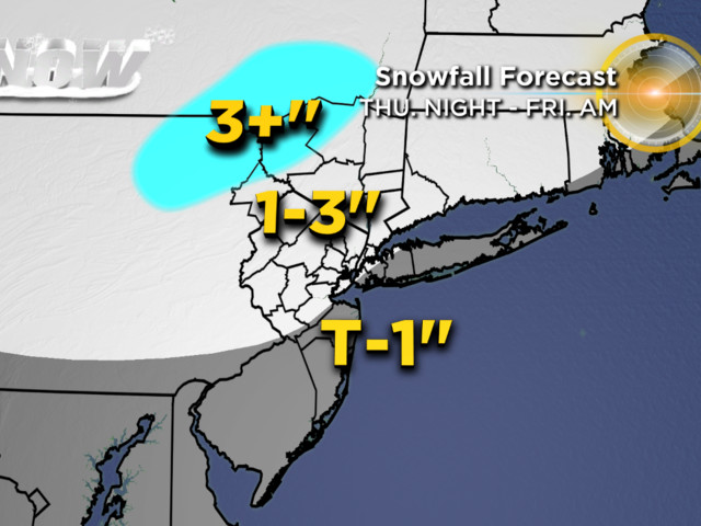 1-2 Punch Of Winter Storms Set To Start Tonight