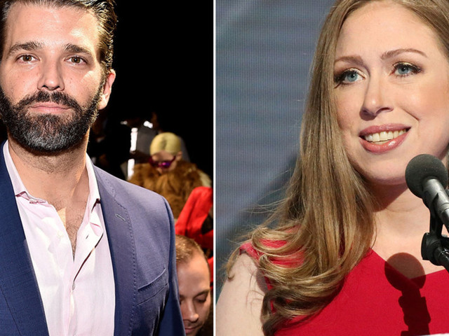 Donald Trump Jr. leaps to defend Chelsea Clinton after far-left activists accost her in viral video