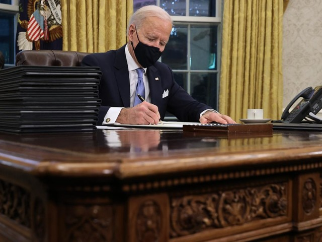 Biden takes action on immigration on day one