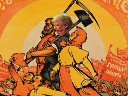 Donald Trump, Socialist?