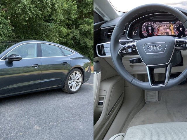 Review: Audi's 2019 A7 Offers Wireless CarPlay and Up to Three Big Dashboard Screens