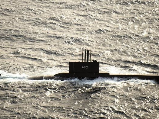 Indonesian Submarine Disappears During Routine Naval Drill