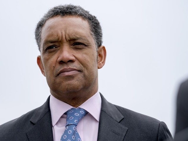 Karl Racine, D.C. attorney general, sues Greyhound over idling buses