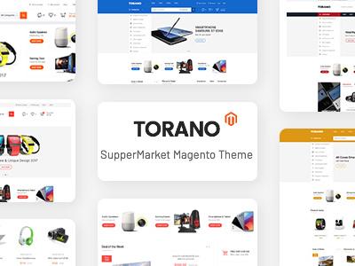 Torano - Supermarket Marketplace Magento 2 Theme (Magento)