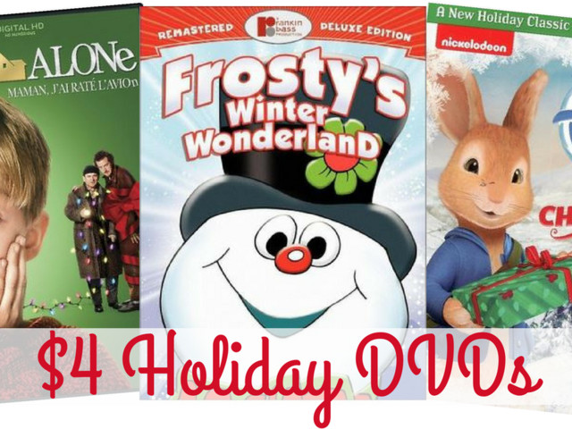 Target Deal   Holiday DVDs for $4 Shipped
