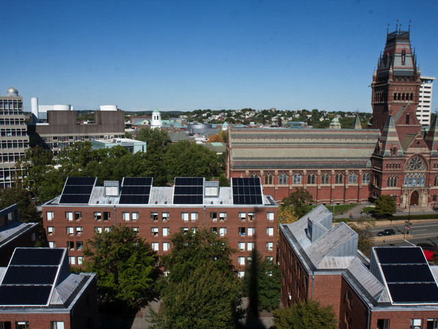 Harvard Aims to Become Fossil-Fuel-Free by 2050